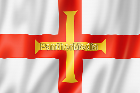 guernsey, island, flag, , uk - 28259741
