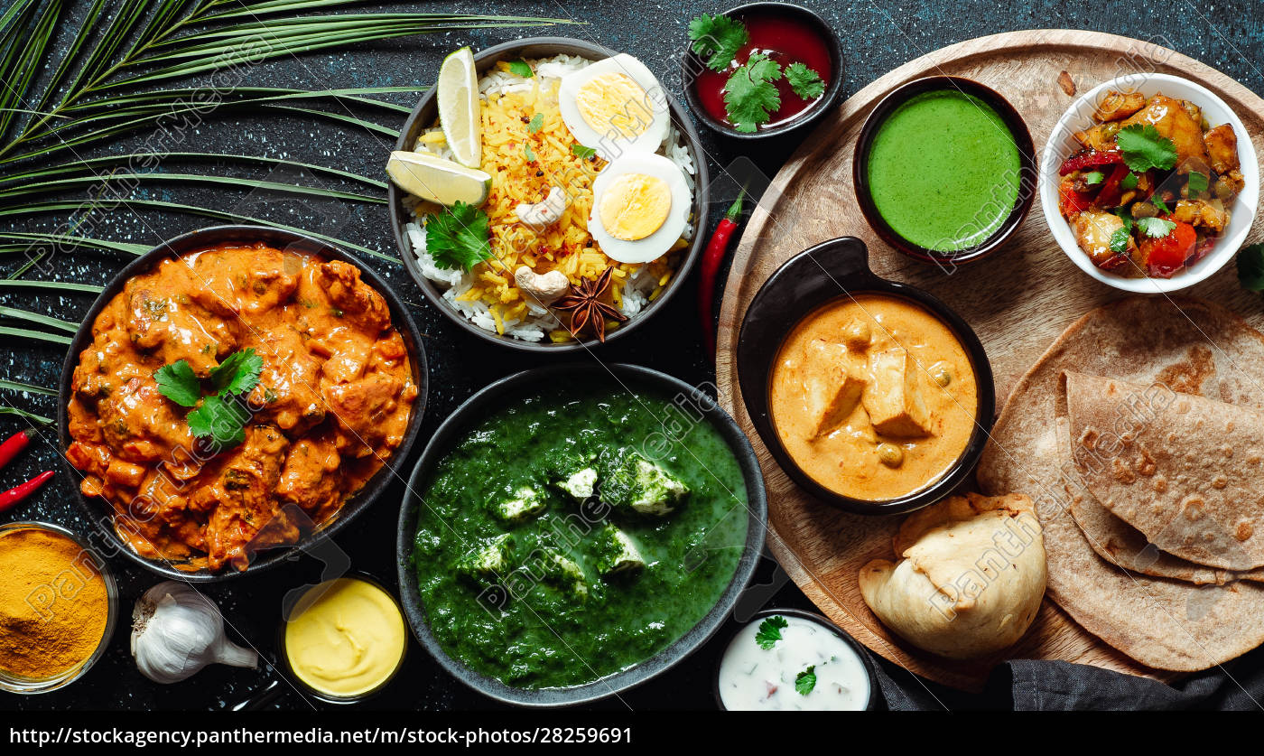 indian, food, and, indian, cuisine, dishes, - 28259691