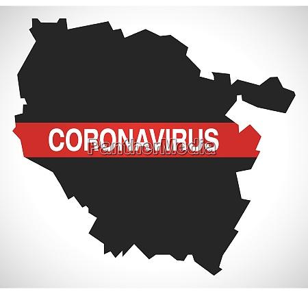 lorraine, france, region, map, with, coronavirus - 28259431