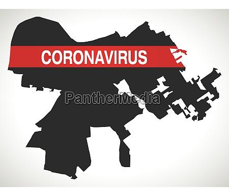louisville, kentucky, city, map, with, coronavirus - 28259275