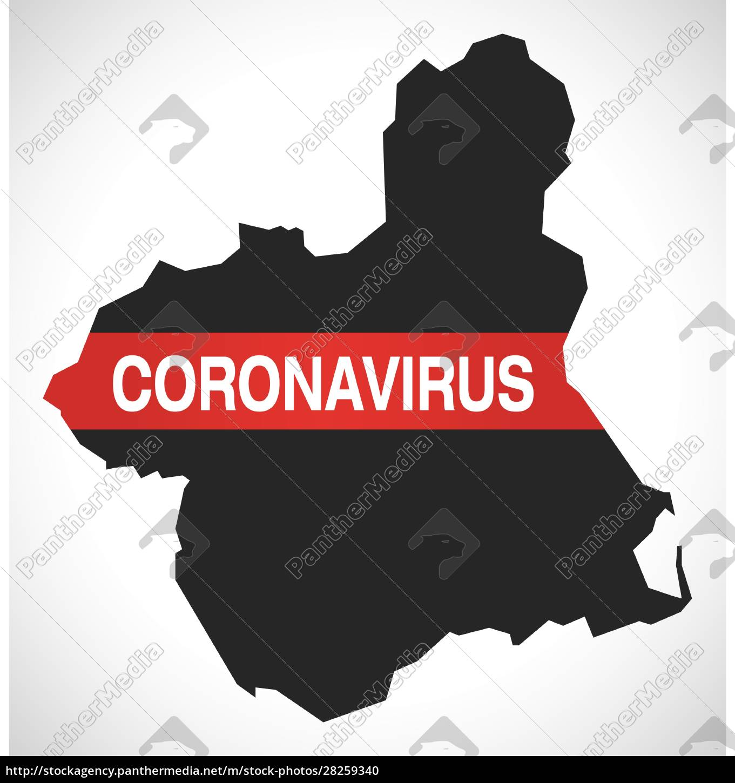 murcia, spain, region, map, with, coronavirus - 28259340