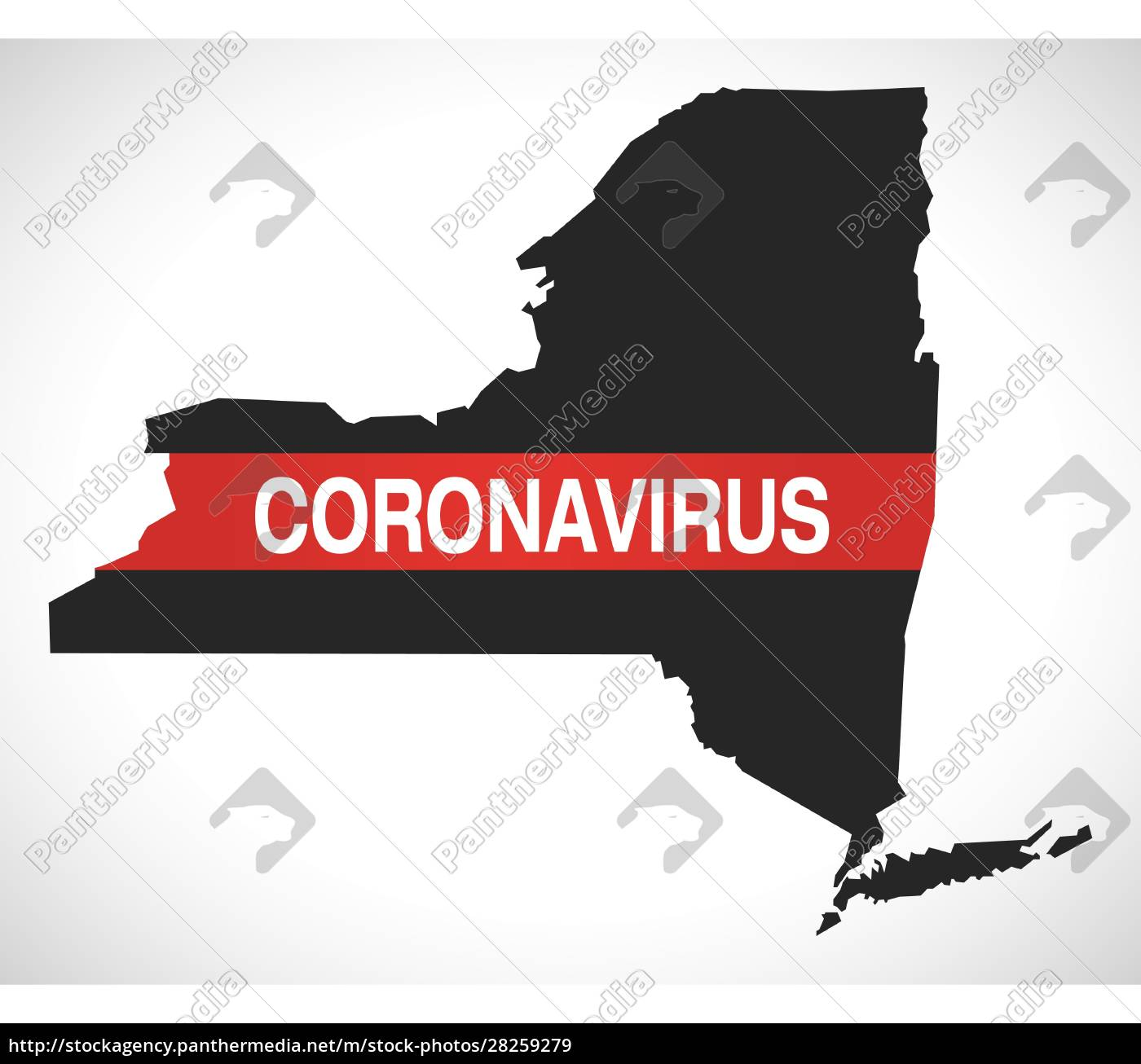 new, york, usa, federal, state, map - 28259279