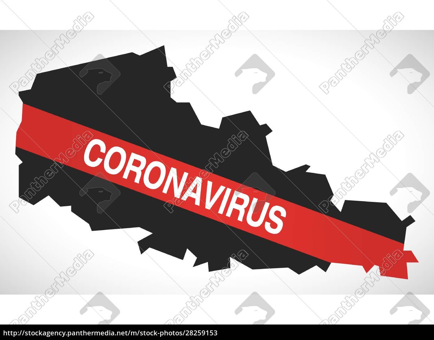 nord-pas-de-calais, france, region, map, with, coronavirus - 28259153