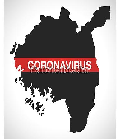 ostfold, norway, county, map, with, coronavirus - 28259301