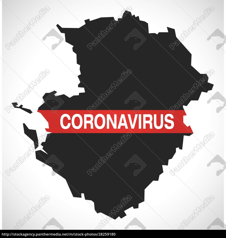 poitou-charentes, france, region, map, with, coronavirus - 28259180