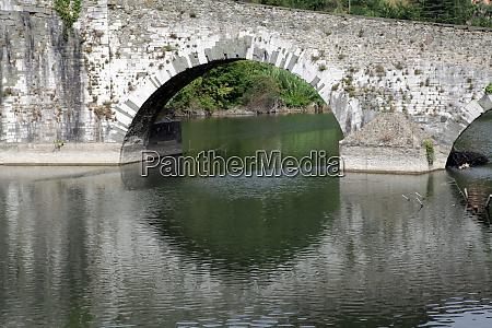 ponte, della, maddalena, across, the, serchio. - 28259051