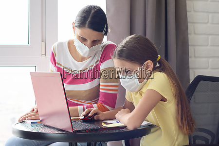 quarantined, mom, and, her, child, do - 28259103