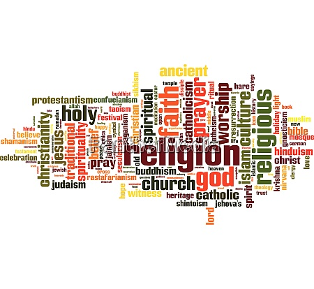 religion, word, cloud - 28259432