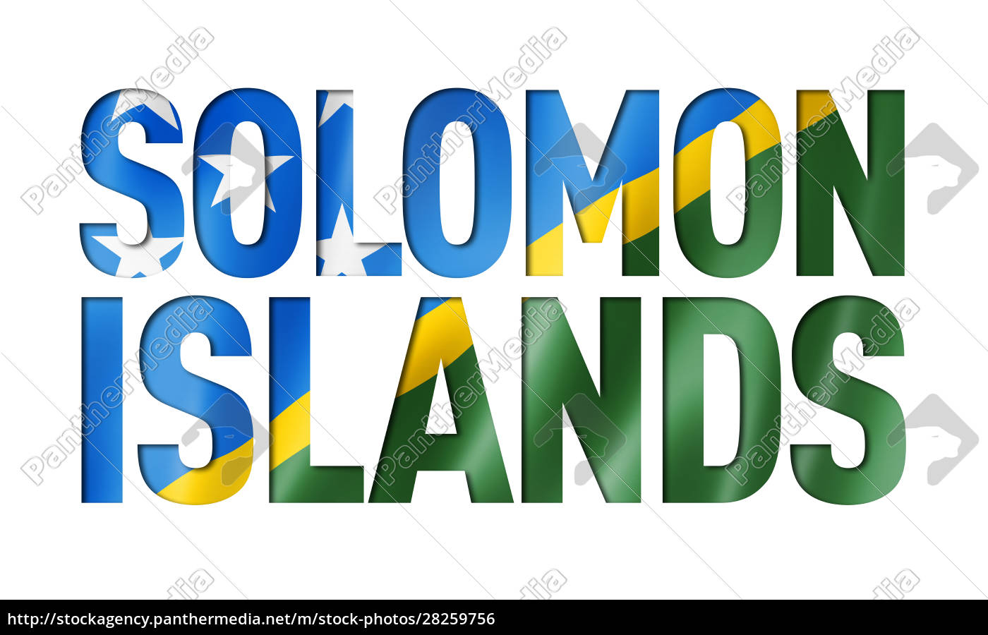 solomon, islands, flag, text, font - 28259756
