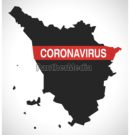 tuscany, italy, region, map, with, coronavirus - 28259365