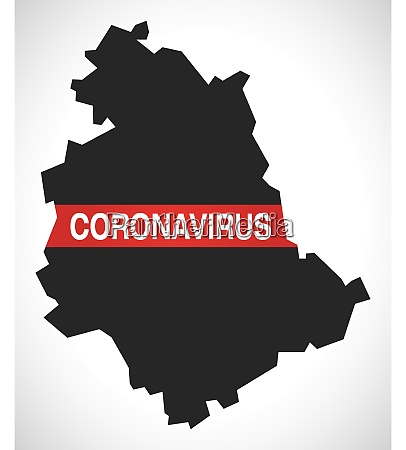 umbria, italy, region, map, with, coronavirus - 28259375