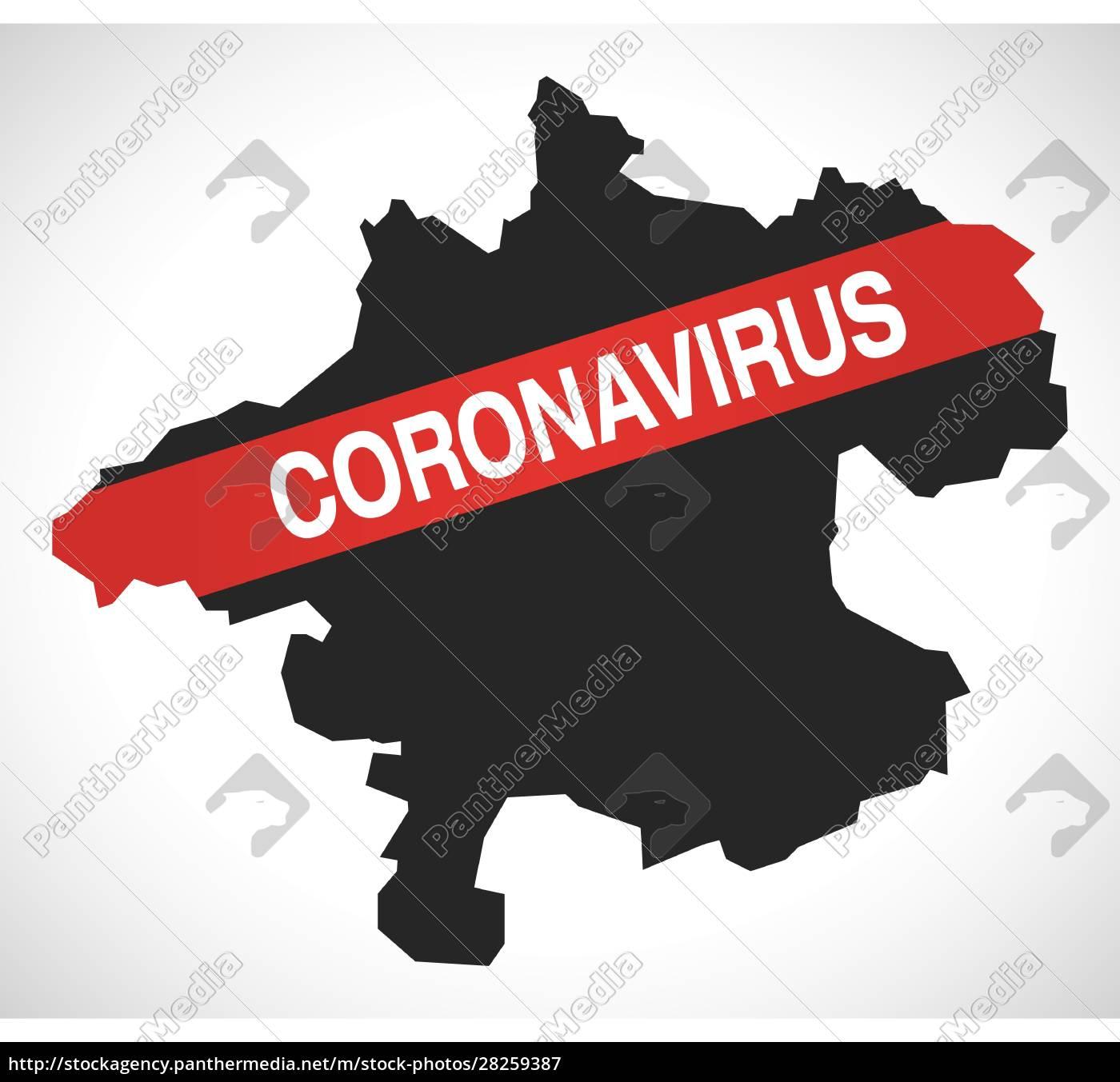 upper, austria, austria, federal, state, map - 28259387