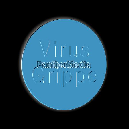 virus, flu, -, word, or, text - 28259244