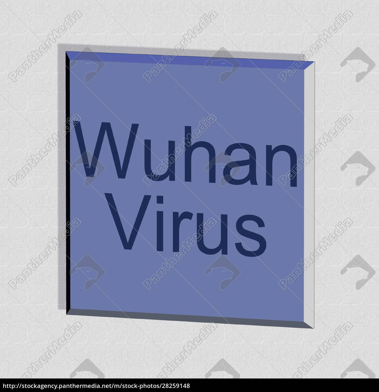 wuhan, virus, -, word, or, text - 28259148
