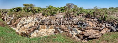 waterfall in awash national park ethiopia