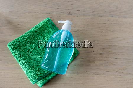 alcohol hand washing gel
