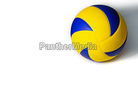yellow, blue, volleyball, ball - 28260029