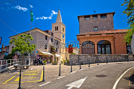 colorful architecture of old town of