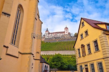 wurzburg architecture and and scenic wurzburg