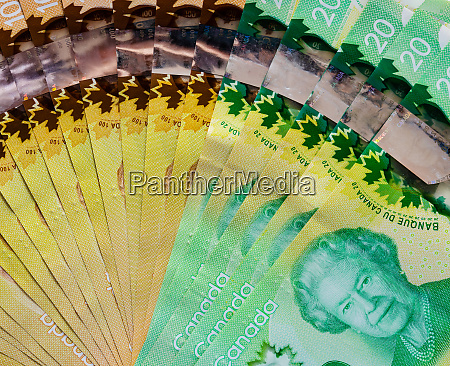 canadian bills background