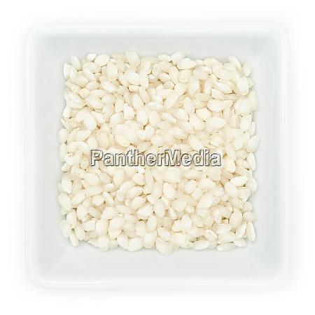 italian rice risotto vialone nano in