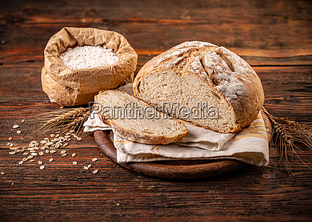 delicious freshly baked bread