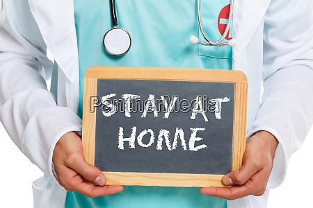 stay at home corona virus coronavirus