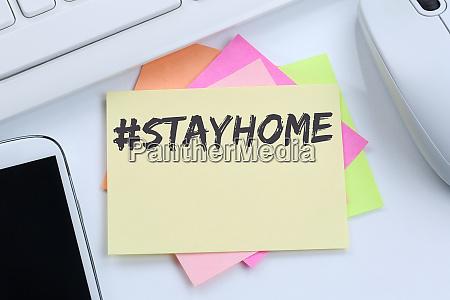 stay home hashtag stayhome coronavirus corona
