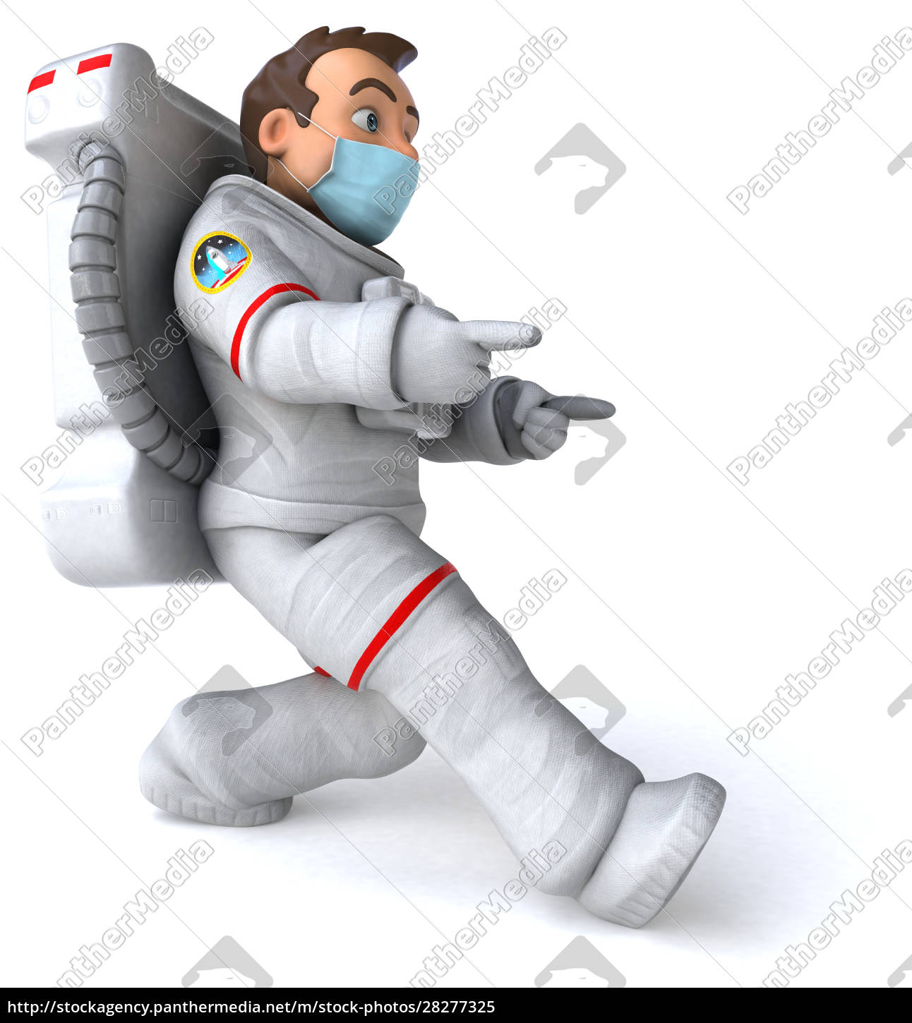 3d, illustration, of, a, cartoon, character - 28277325