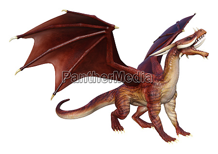 3d, rendering, fairy, tale, dragon, on - 28277292