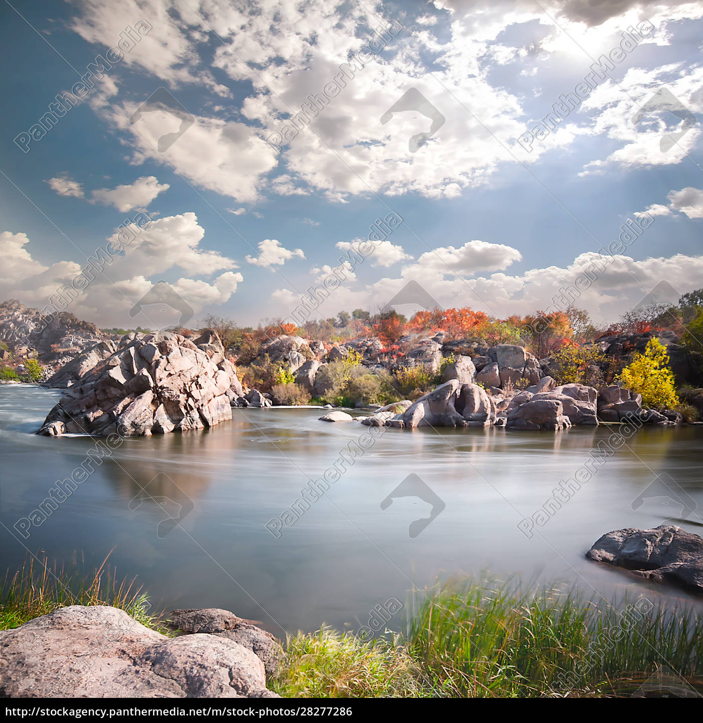 flowing, mountain, river, among, the, rocks - 28277286