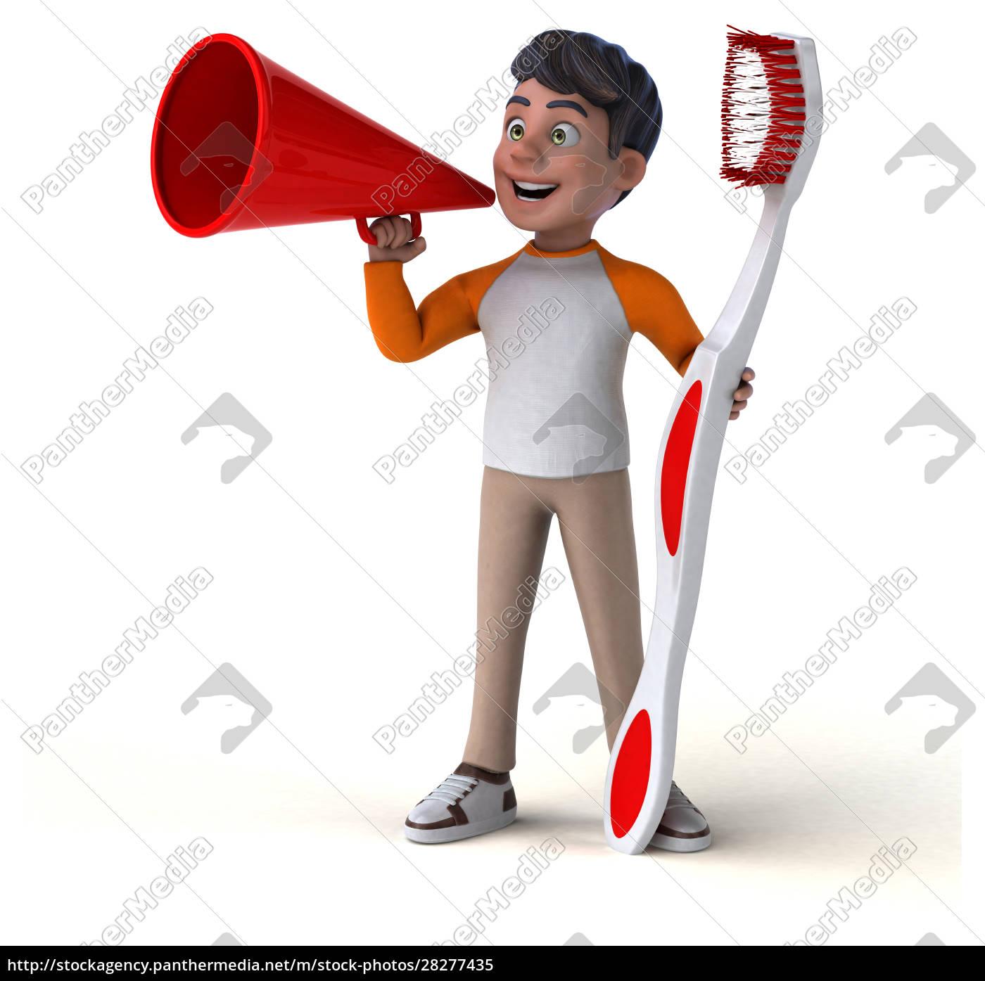 fun, 3d, cartoon, asian, teenager, - 28277435