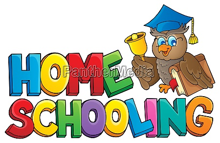 home, schooling, theme, sign, 2 - 28277572