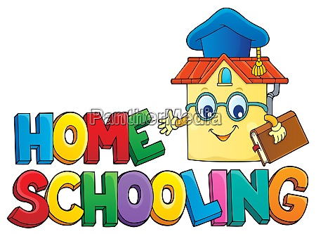 home, schooling, theme, sign, 6 - 28277577