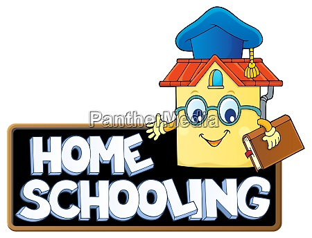 home, schooling, theme, sign, 7 - 28277541