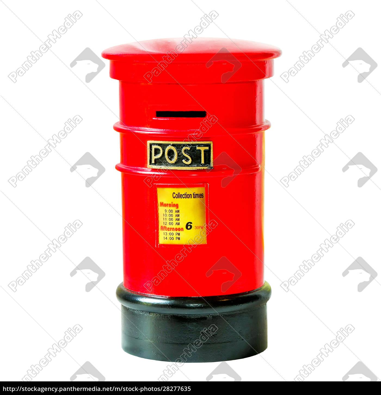 red, mailbox - 28277635