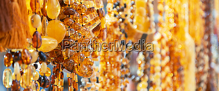 amber, beads, in, a, jewelry, store - 28278744