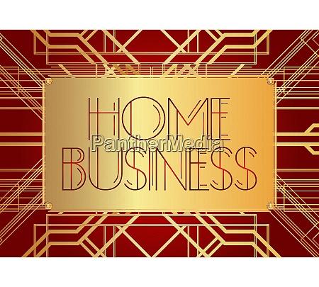 art, deco, home, business, text. - 28278921