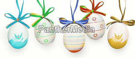 beautiful, easter, background, with, colorful, easter - 28278294
