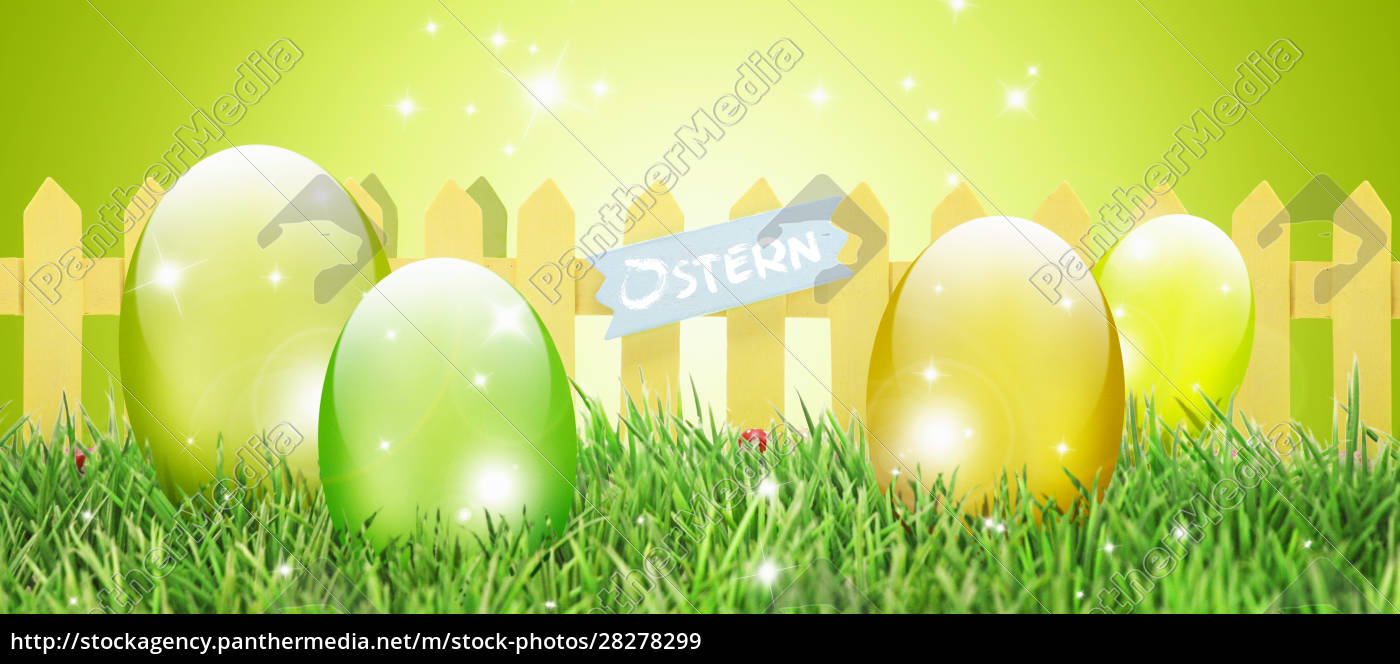 beautiful, easter, background, with, colorful, easter - 28278299