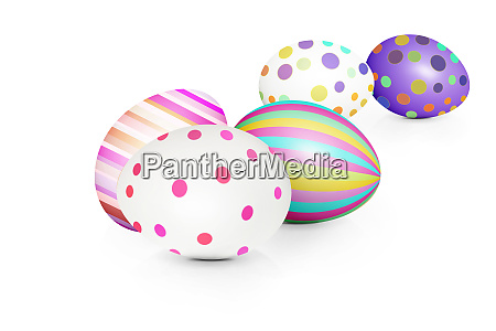beautiful, easter, background, with, colorful, easter - 28278485