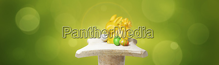 beautiful, easter, background, with, colorful, easter - 28278487