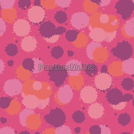 blot, living, coral, seamless, pattern., vector - 28278525