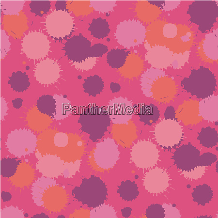 blot, living, coral, seamless, pattern., vector - 28278526