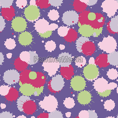 blot, ultra, violet, seamless, pattern., vector - 28278680