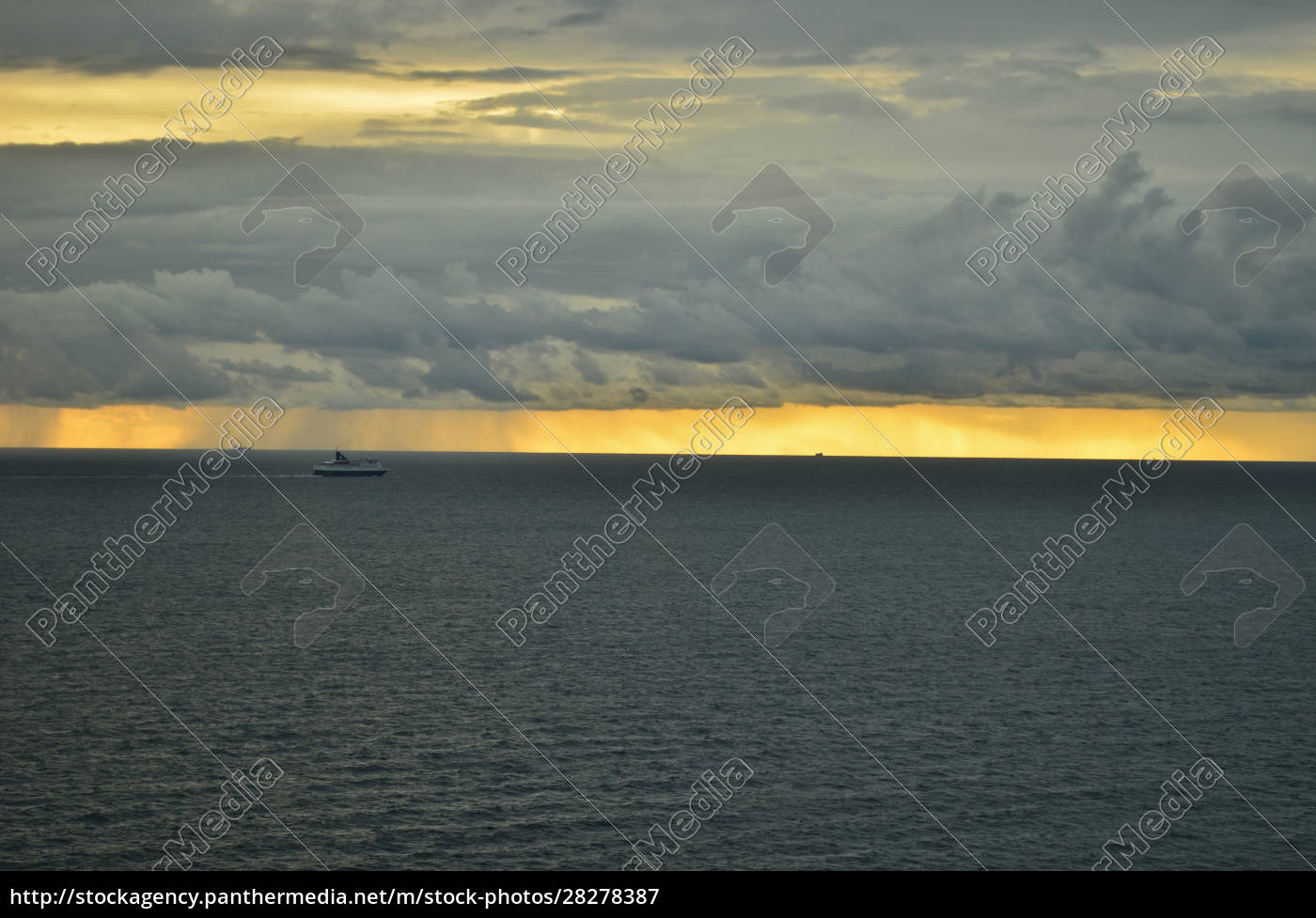 golden, sunset, with, rains, all, over - 28278387