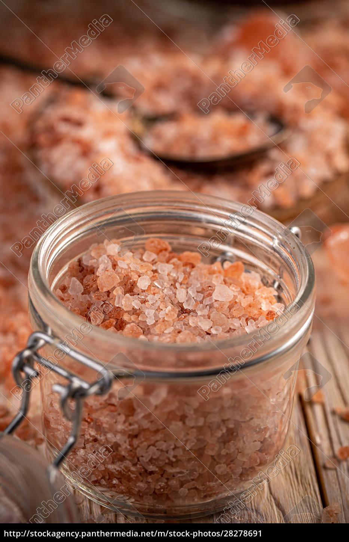 jar, of, pink, himalayan, salt - 28278691