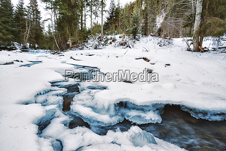 mountain, river, under, the, ice - 28278719