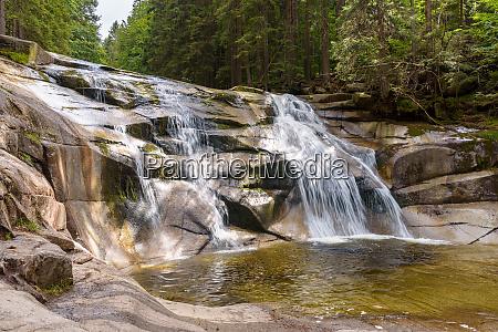 mumlava, waterfall, in, czech, giant, mountains - 28278989