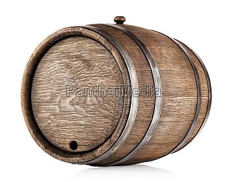 old, round, oak, barrel - 28278878